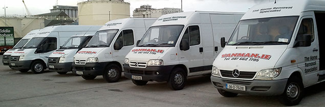 e1c5bf51b8 Vanman is fast becoming Irelands most used removals company. Founded in  Dublin