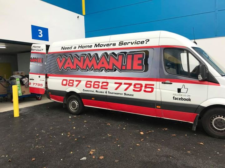Man with a Van Dublin - Removal and Storage Company